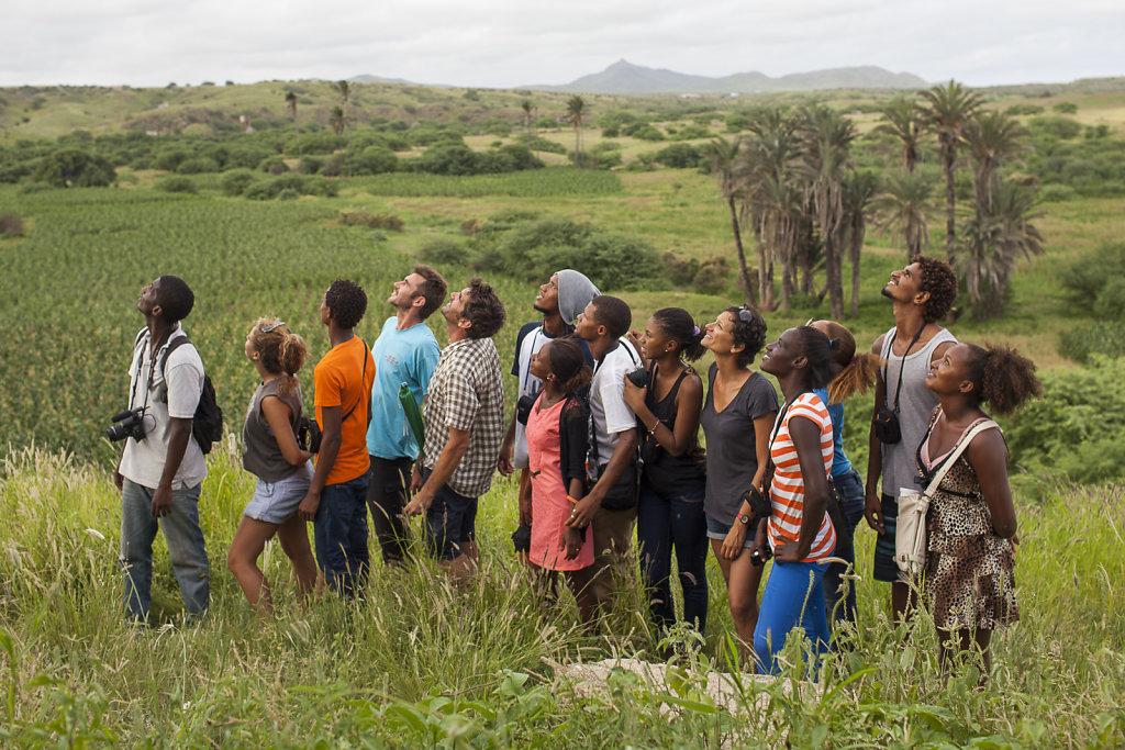 Climat: tête en l'air, pieds sur terre / Photographie participative sur le littoral ouest africain